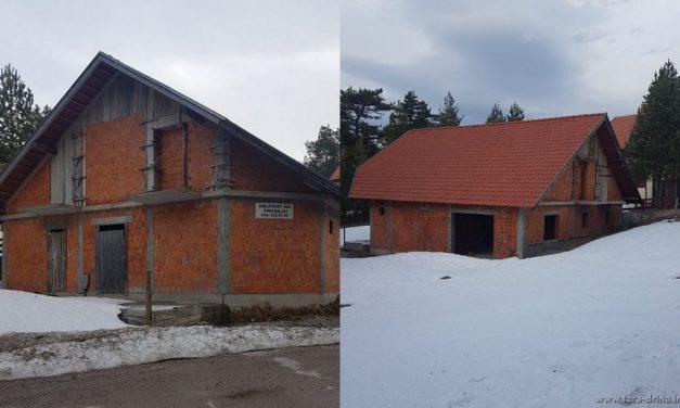 Prodajem objekat od 140m2 na Kaluđerskim Barama na Tari